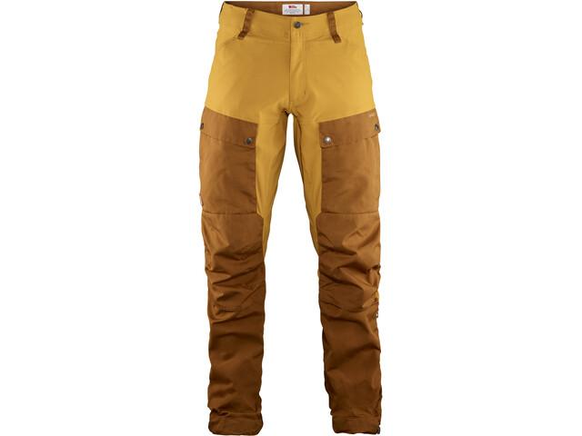 Fjällräven Keb Pantalones Hombre, chestnut-acorn